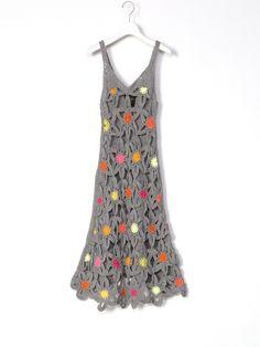 Juana de Arco crochet dress