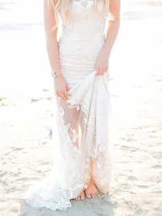 Beach Bride Accessories/ Unique Bracelets/ http://ruffledblog.com RomaBea Images/ Petals & Stones/ My Lovely Events