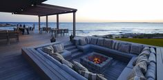If a beach home is an option. I will have a fire place like this.