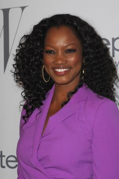 Garcelle Beauvais curly ringlets hairstyle
