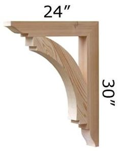 Wood Bracket 14T8 - Pro Wood Market