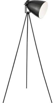 Searchlight Lighting 9606BK - Studio - 1 Light Black Floor Lamp