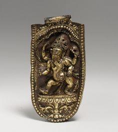 Four-Armed Ganesha Dancing, 16th–17th century. Nepal. The Metropolitan Museum of Art, New York.