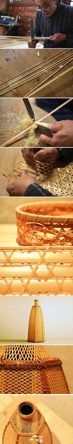 beautiful bamboo baskets