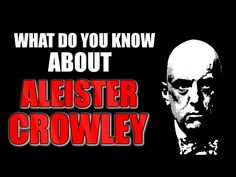 25 Best ALEISTER CROWLEY images in 2017 | Aleister crowley, Magick