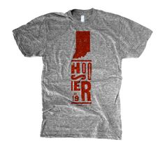 Love this Hoosier t-shirt from The Social Department.