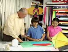 ATV will show you how to build a traditional Japanese bowed kite that's simple to make and has great soaring ability. Senior Citizen Activities, Change Of Heart, Kite Flying, Derby Day, All Kids, Blue Bonnets, Kites, Childrens Books, Fun Facts