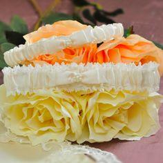 Vintage Lace Wedding Garter in Ivory