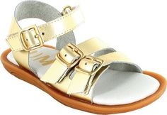 Umi Girls' Celeste,Gold Leather,EU 30 M => Can't believe it's available, see it now : Girls sandals