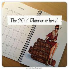 Brittany Fuson 2014 Planner [ www.brittanyfuson.com ]