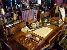 Sherlock Holmes' desk!