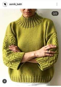 Knitting patterns, knitting designs, knitting for beginners. Knitting Needles, Hand Knitting, Knit Fashion, Knitting Designs, Pulls, Knit Crochet, Crochet Cardigan, Cardigan Pattern, Knitwear