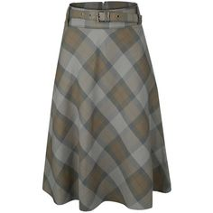 Tartan Full Circle Skirt ❤ liked on Polyvore featuring skirts, plaid circle skirt, plaid skater skirt, tartan skirt, flared skirt and skater skirts