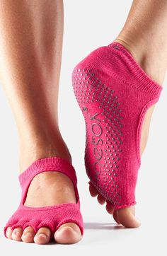ToeSox+'Bella'+Half+Toe+Gripper+Socks+available+at+#Nordstrom