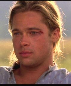 Brad Pitt in 'Legends of the Fall'.....I love his character in this movie so much!!!!!!!!!