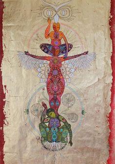 totems caroline manière more gudinnor totems caroline animal totems . Devine Feminine, Sacred Feminine, Aigle Animal, 4 Image, Art Visionnaire, Spirited Art, Goddess Art, Inspiration Art, Visionary Art