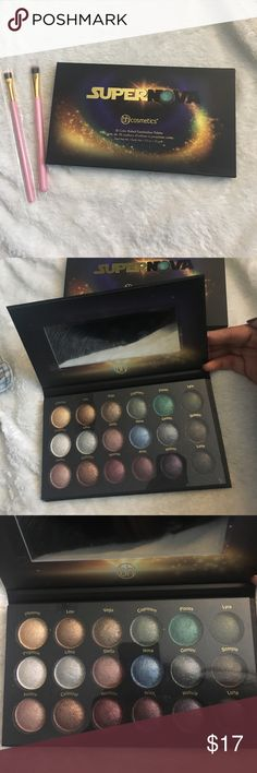 BH Cosmetics Super Nova palette& 2 brushes BH Cosmetics Super Nova eyeshadow palette. Never used, comes with protective box. & 2 brushes. One classic shadow brush and one flat eyeliner brush, Perfect for gel liner or concealer!   📢❗️Everything must go so accepting all reasonable offers! (Hit offer button and we can negotiate) 📦 📬🤝👗🌻🌸  Check out my other listings for brands such as Nike, Old Navy, Zara, Forever 21, BH Cosmetics, Morphe, Carters and much more! I post items every other…