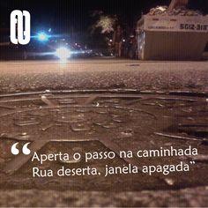 Já teve medo de voltar pra casa? Confira o poema completo no site: bit.ly/omedonavolta #literatura #poesia #escritores #arte #street #acervolivre