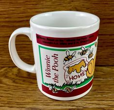 Disney Winnie The Pooh Mug Cup Collectable Brand New Vintage kids adults Winnie The Pooh Mug, Disney Winnie The Pooh, Mug Cup, Vintage Children, Cups, Brand New, Tableware, Ebay, Vintage Kids