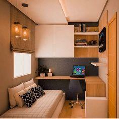 Small room design – Home Decor Interior Designs Tiny Bedroom Design, Home Room Design, Home Office Design, Home Office Decor, Home Interior Design, Office Ideas, Study Room Design, Office Designs, Small Office Design