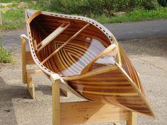Best Wooden canoe ideas on Wood Canoe, Wooden Kayak, Canoe Boat, Kayak Boats, Canoe And Kayak, Wooden Boats, Canoe Trip, Fishing Boats, Cool Boats