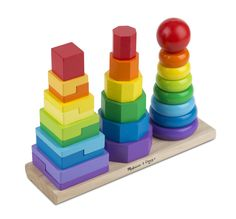 Melissa & Doug Geometric Stacker - babies/toddlers all seem to love it!