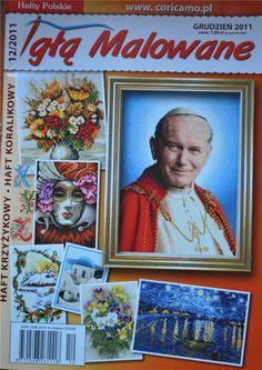 Gallery.ru / Zdjęcie nr 61 - 180 - markisa81 Juan Pablo Ii, Pope John Paul Ii, Mother Teresa, Cross Stitch, Baseball Cards, Knitting, Art, Gallery, Journals