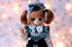 Hello everyone! | by Siniirr Hello Everyone, Maid, Kitty, Christmas Ornaments, Holiday Decor, Xmas Ornaments, Kitten, Kitty Cats, Christmas Jewelry
