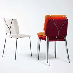 Inspired By Trouser Braces, The Frankie Chair, Is Named After The Creator  Of The Lindy Hop, Frankie Manning   The Metal Frame Can Be Enameled In  Different ...