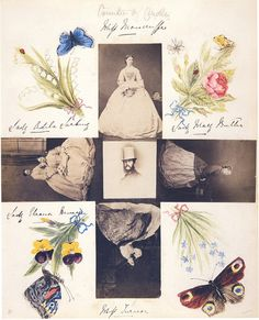 victorian photo collage - Google Search