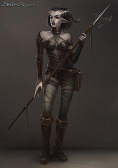 Silvernai: Satri by telthona teifling, sper