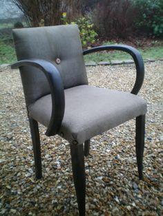 fauteuil bridge ann es 50 relook vintage passe l 39 atelier tapissier tendance passe l. Black Bedroom Furniture Sets. Home Design Ideas