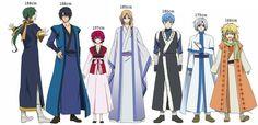 Akatsuki no Yona anime and Manga ||