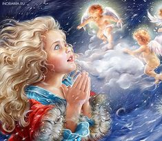 """Illusztráció Inna Kuzubova a mese """"The Snow Queen"""". Vita LiveInternet - orosz Service Online Diaries"""