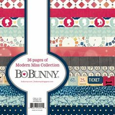 Bo Bunny: Day 3: Product Previews - Modern Miss