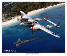 """P-38 Lighting """"Battle Axe"""" by markkarvon on deviantART"""