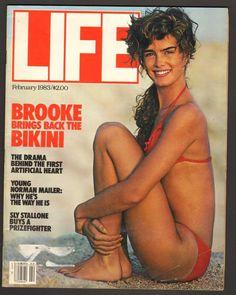 LIFE Magazine February 1983 - Brooke Shields Brings Back the Bikini
