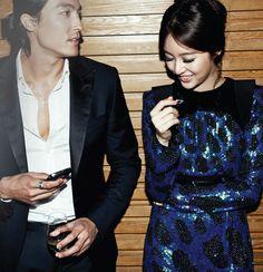 Yoon eun hye and daniel henney.  mostly daniel henney