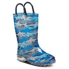Toddler Boys' Light Up Western Chief Rain Boots