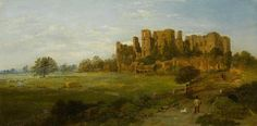 June Morning, Kenilworth Castle, Warwickshire by Edward Price