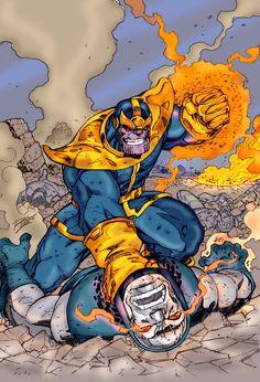 Thanos Vs Darkseid  #MarvelVsDC
