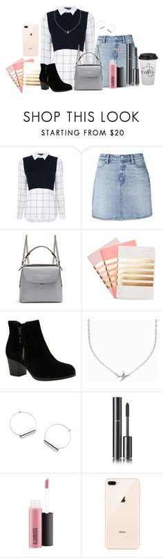 """School day"" by lmorin-1 ❤ liked on Polyvore featuring Alice + Olivia, Fendi, StudioSarah, Skechers, Minnie Grace and Chanel"