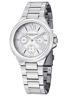 Women's Quartz Lady Pontiff Silver Dial Stainless Steel