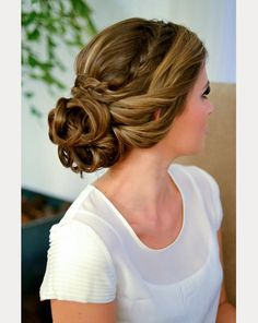20 Beautiful Braided Updos for Brides - Mon Cheri Bridals