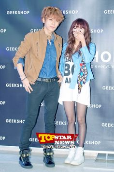 Image de trouble maker, hyuna, and hyunseung Kpop Fashion, Korean Fashion, Womens Fashion, Hyuna And Hyunseung, Shop Geek, Jang Hyun Seung, What's So Funny, Park Jimin Cute, Unisex Clothes