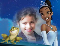 Fotoefectos Princesas y Sapos para crear tu mismo gratis.