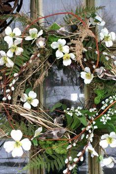 Welcome Springtime Wreath :)