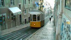 2015, week 41. Tram of Lisbona - Portugal. Picture taken: 2009, 04