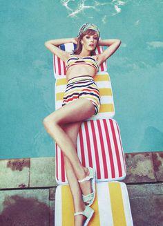 Fashion | Mod Girl | Edie Campbell