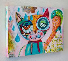 Michelle Allen is another favorite artist of mine. Just LOOK at those colors!